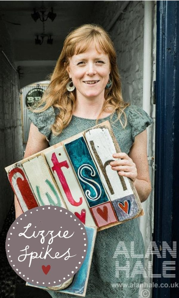 Mid Wales Artist Lizzie Spikes