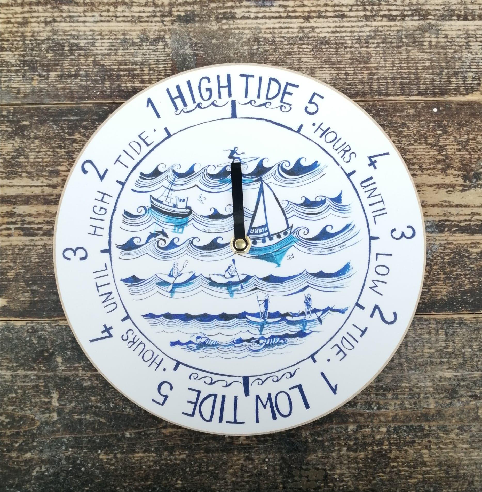 Waves Tide Clock