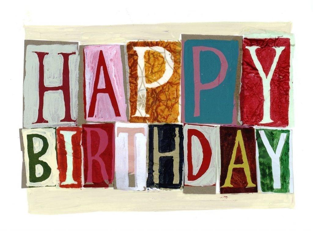 Happy Birthday Fonts ~ Happy birthday a6 card driftwood designs